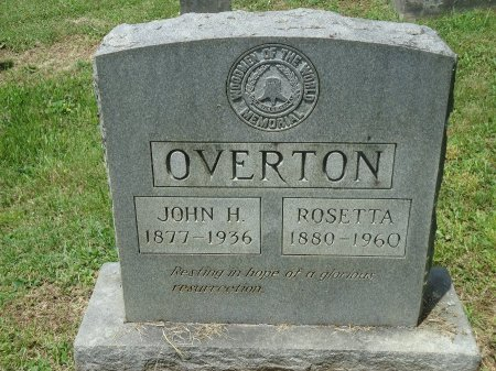 OVERTON, JOHN HARVY - Knox County, Tennessee | JOHN HARVY OVERTON - Tennessee Gravestone Photos