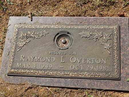 OVERTON, RAYMOND L - Knox County, Tennessee   RAYMOND L OVERTON - Tennessee Gravestone Photos