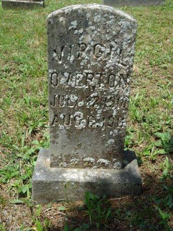 OVERTON, VIRGIL - Knox County, Tennessee   VIRGIL OVERTON - Tennessee Gravestone Photos