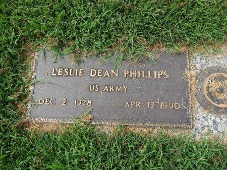 PHILLIPS (VETERAN), LESLIE DEAN   - Knox County, Tennessee | LESLIE DEAN   PHILLIPS (VETERAN) - Tennessee Gravestone Photos