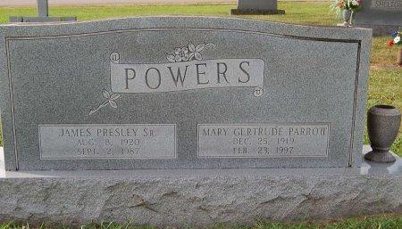 PARROTT POWERS, MARY GERTRUDE - Knox County, Tennessee   MARY GERTRUDE PARROTT POWERS - Tennessee Gravestone Photos