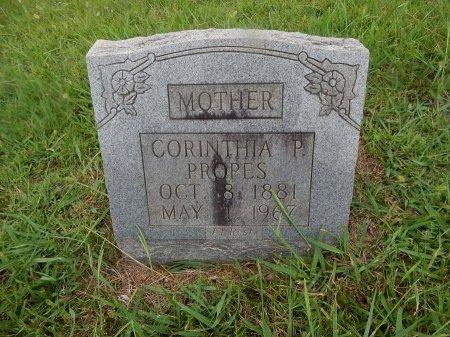 PROPES, CORINTHIA - Knox County, Tennessee | CORINTHIA PROPES - Tennessee Gravestone Photos
