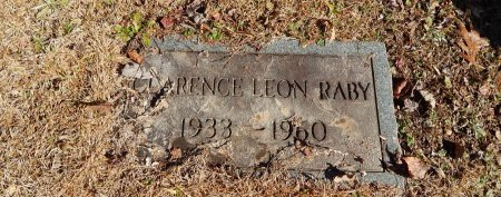 RABY, CLARENCE LEON - Knox County, Tennessee | CLARENCE LEON RABY - Tennessee Gravestone Photos