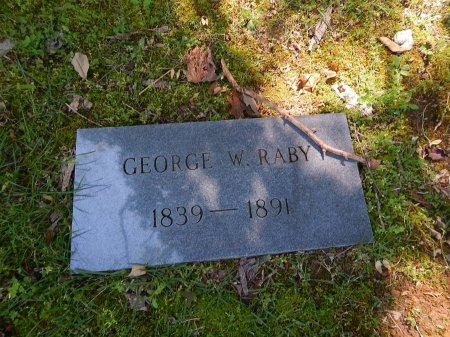 RABY, GEORGE W - Knox County, Tennessee | GEORGE W RABY - Tennessee Gravestone Photos