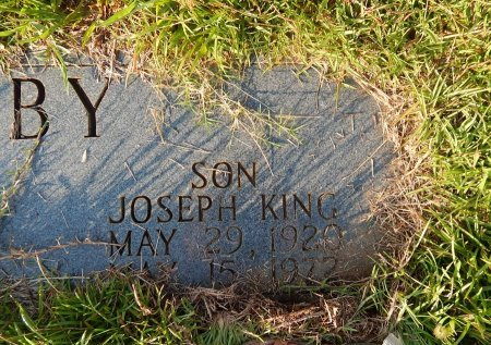 RABY, JOSEPH KING - Knox County, Tennessee | JOSEPH KING RABY - Tennessee Gravestone Photos
