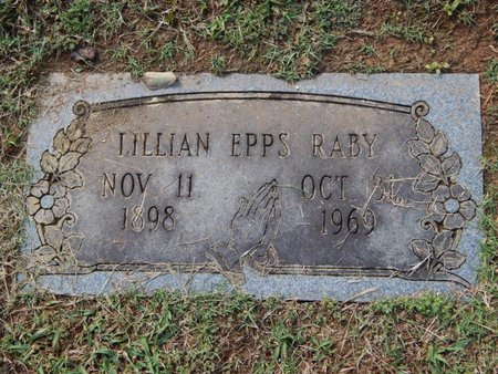 RABY, LILLIAN - Knox County, Tennessee | LILLIAN RABY - Tennessee Gravestone Photos