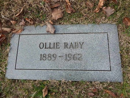 RABY, OLLIE - Knox County, Tennessee | OLLIE RABY - Tennessee Gravestone Photos