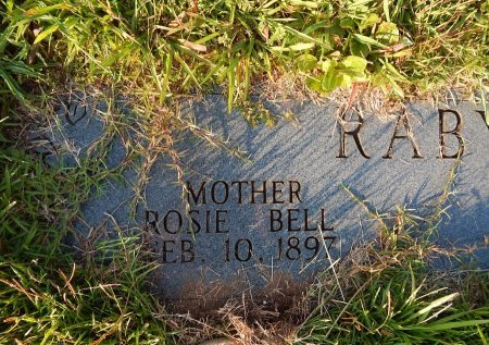 RABY, ROSIE BELL - Knox County, Tennessee | ROSIE BELL RABY - Tennessee Gravestone Photos
