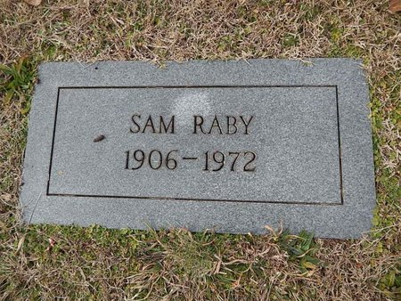 RABY, SAM - Knox County, Tennessee | SAM RABY - Tennessee Gravestone Photos