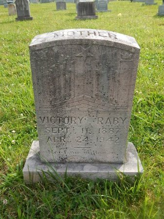 RABY, VICTORY - Knox County, Tennessee | VICTORY RABY - Tennessee Gravestone Photos