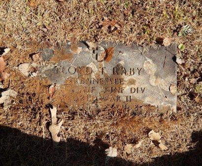 RABY (VETERAN WWII), FLOYD T   - Knox County, Tennessee | FLOYD T   RABY (VETERAN WWII) - Tennessee Gravestone Photos