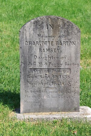 RAMSEY, CHARLOTTE BARTON - Knox County, Tennessee | CHARLOTTE BARTON RAMSEY - Tennessee Gravestone Photos