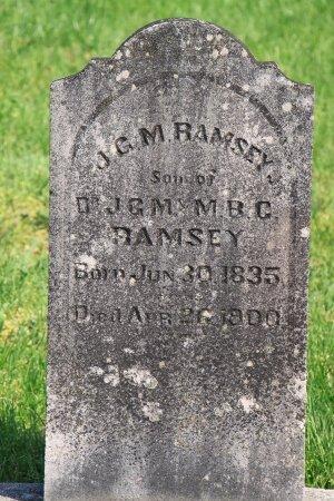 RAMSEY, J. G. M.  - Knox County, Tennessee   J. G. M.  RAMSEY - Tennessee Gravestone Photos