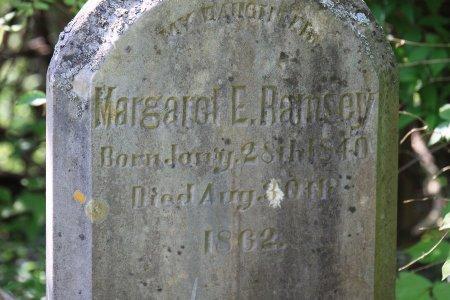 RAMSEY, MARGARET E. (CLOSE UP) - Knox County, Tennessee   MARGARET E. (CLOSE UP) RAMSEY - Tennessee Gravestone Photos
