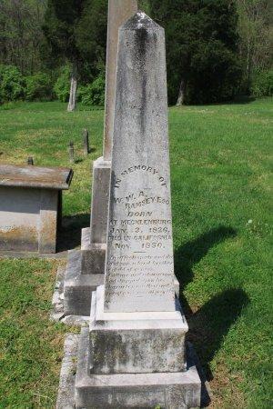 RAMSEY, W. W. A. - Knox County, Tennessee | W. W. A. RAMSEY - Tennessee Gravestone Photos