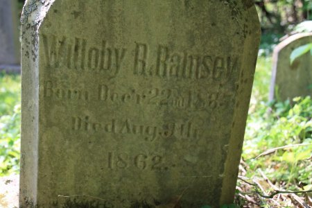 RAMSEY, WILLOBY R. (CLOSE UP) - Knox County, Tennessee | WILLOBY R. (CLOSE UP) RAMSEY - Tennessee Gravestone Photos