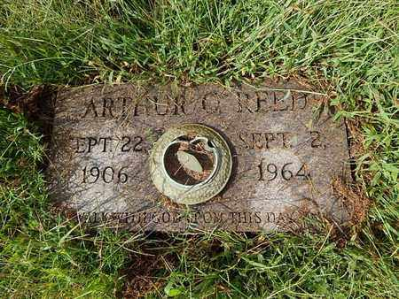 REED, ARTHUR O - Knox County, Tennessee | ARTHUR O REED - Tennessee Gravestone Photos