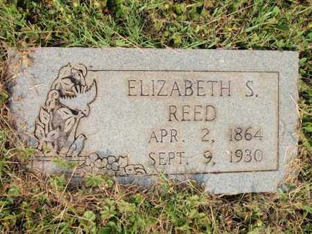 REED, ELIZABETH S - Knox County, Tennessee   ELIZABETH S REED - Tennessee Gravestone Photos