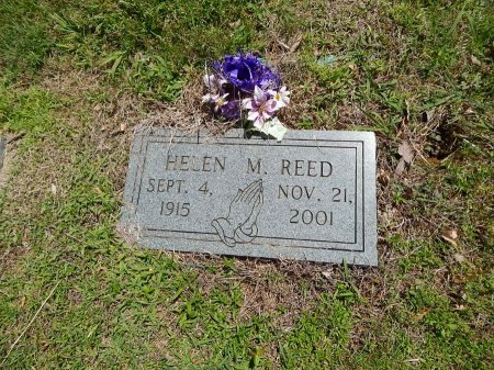 REED, HELEN M - Knox County, Tennessee | HELEN M REED - Tennessee Gravestone Photos