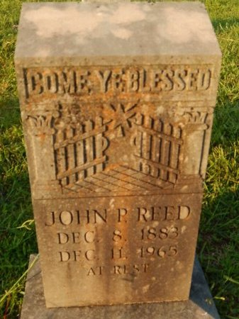 REED, JOHN P - Knox County, Tennessee | JOHN P REED - Tennessee Gravestone Photos