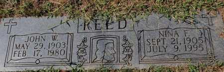 REED, NINA F - Knox County, Tennessee | NINA F REED - Tennessee Gravestone Photos