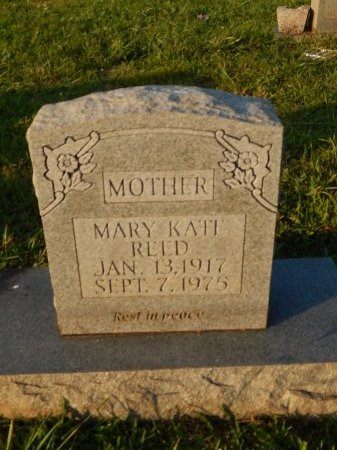 REED, MARY KATE - Knox County, Tennessee | MARY KATE REED - Tennessee Gravestone Photos