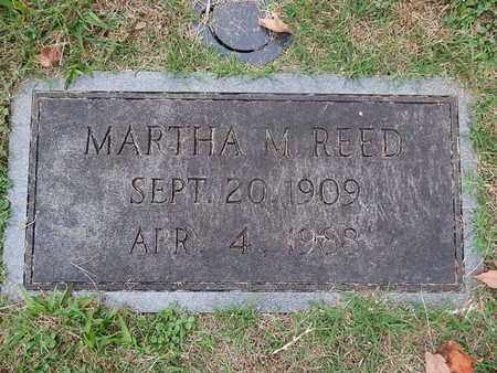 REED, MARTHA M - Knox County, Tennessee | MARTHA M REED - Tennessee Gravestone Photos
