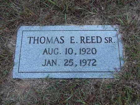 REED, THOMAS E SR - Knox County, Tennessee | THOMAS E SR REED - Tennessee Gravestone Photos