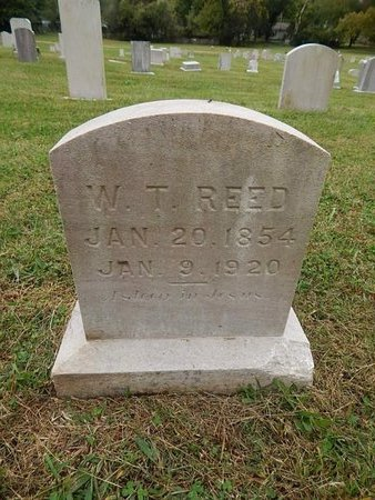 REED, W T - Knox County, Tennessee | W T REED - Tennessee Gravestone Photos