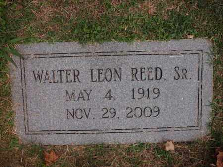 REED, WALTER LEON SR - Knox County, Tennessee   WALTER LEON SR REED - Tennessee Gravestone Photos