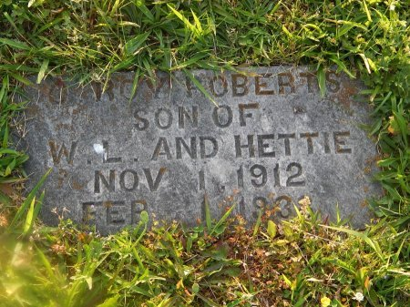 ROBERTS, C ROY - Knox County, Tennessee | C ROY ROBERTS - Tennessee Gravestone Photos