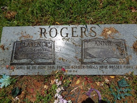 ROGERS, CLARENCE - Knox County, Tennessee | CLARENCE ROGERS - Tennessee Gravestone Photos