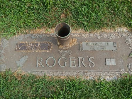 ROGERS, ELLA AND ERNEST - Knox County, Tennessee | ELLA AND ERNEST ROGERS - Tennessee Gravestone Photos