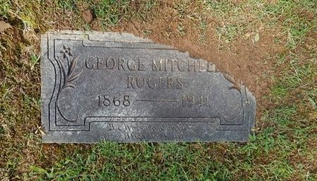 ROGERS, GEORGE MITCHELL - Knox County, Tennessee | GEORGE MITCHELL ROGERS - Tennessee Gravestone Photos