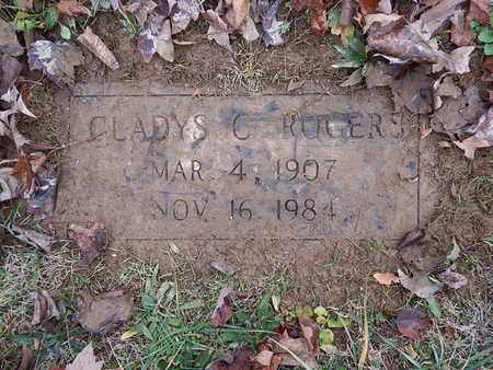 ROGERS, GLADYS C - Knox County, Tennessee | GLADYS C ROGERS - Tennessee Gravestone Photos