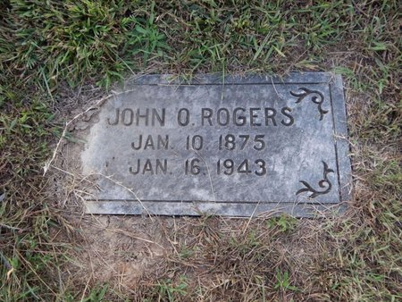 ROGERS, JOHN O - Knox County, Tennessee | JOHN O ROGERS - Tennessee Gravestone Photos