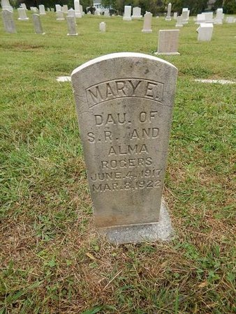 ROGERS, MARY E - Knox County, Tennessee | MARY E ROGERS - Tennessee Gravestone Photos