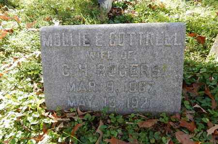 ROGERS, MOLLIE E - Knox County, Tennessee   MOLLIE E ROGERS - Tennessee Gravestone Photos