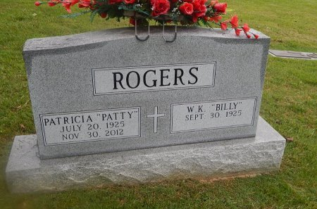 """ROGERS, PATRICIA """"PATTY"""" - Knox County, Tennessee 