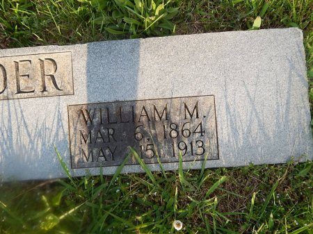 RUDDER, WILLIAM M - Knox County, Tennessee | WILLIAM M RUDDER - Tennessee Gravestone Photos