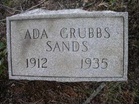 SANDS, ADA - Knox County, Tennessee | ADA SANDS - Tennessee Gravestone Photos