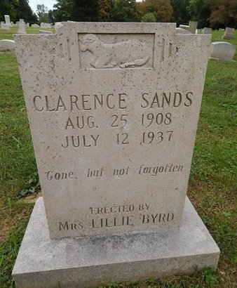 SANDS, CLARENCE - Knox County, Tennessee | CLARENCE SANDS - Tennessee Gravestone Photos