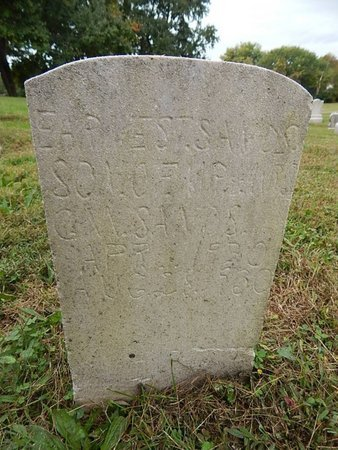 SANDS, EARNEST - Knox County, Tennessee | EARNEST SANDS - Tennessee Gravestone Photos