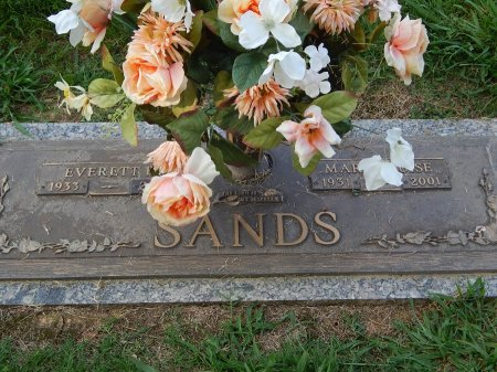 SANDS, EVERETT AND MARY - Knox County, Tennessee | EVERETT AND MARY SANDS - Tennessee Gravestone Photos