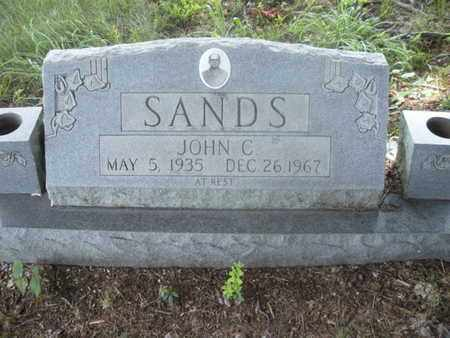 SANDS, JOHN C - Knox County, Tennessee | JOHN C SANDS - Tennessee Gravestone Photos