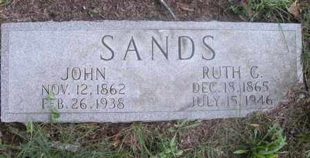 SANDS, JOHN - Knox County, Tennessee | JOHN SANDS - Tennessee Gravestone Photos