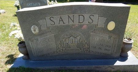 SANDS, LUNDY H - Knox County, Tennessee | LUNDY H SANDS - Tennessee Gravestone Photos