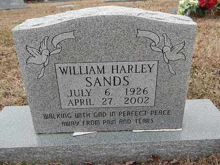 SANDS, WILLIAM HARLEY - Knox County, Tennessee | WILLIAM HARLEY SANDS - Tennessee Gravestone Photos