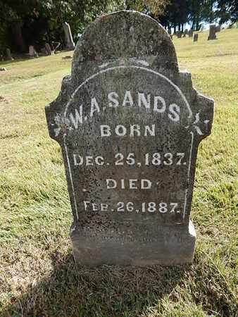 SANDS, WILLIAM A - Knox County, Tennessee | WILLIAM A SANDS - Tennessee Gravestone Photos