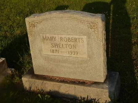 ROBERTS SHELTON, MARY - Knox County, Tennessee | MARY ROBERTS SHELTON - Tennessee Gravestone Photos